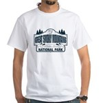 Great Smoky Mountains National Park White T-Shirt