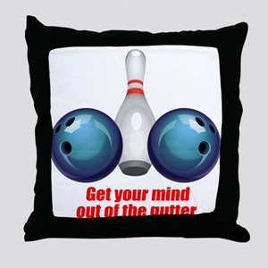 Get your Mind out of the Gutter (blue) Throw P