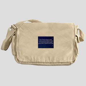 Sanity Prayer Messenger Bag