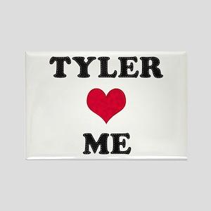 Tyler Loves Me Rectangle Magnet
