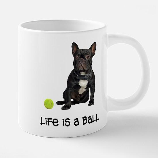 French Bulldog Life 20 oz Ceramic Mega Mug