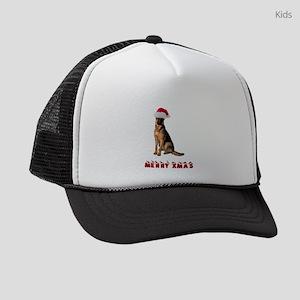 German Shepherd Christmas Kids Trucker hat