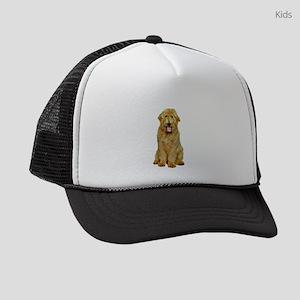Goldendoodle Photograph Kids Trucker hat