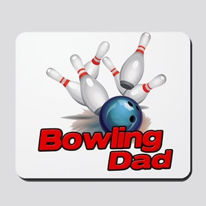 Bowling Dad Mousepad