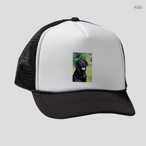 black-lab Kids Trucker hat