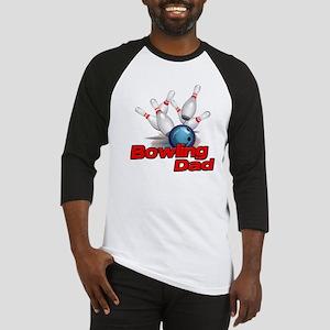 Bowling Dad Baseball Jersey