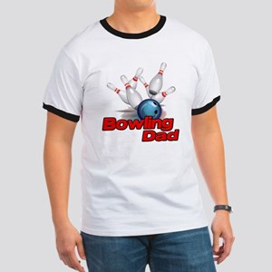 Bowling Dad Ringer T