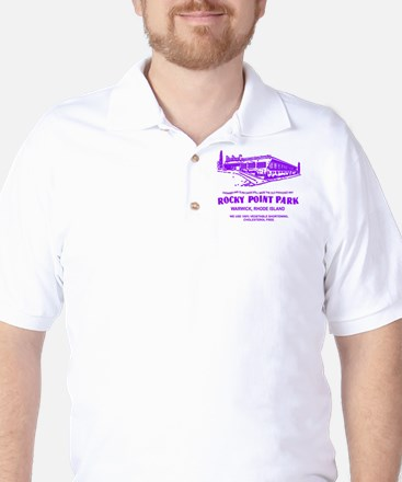 Shore Dinner Hall - PURPLE Golf Shirt