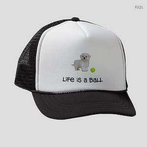 Maltese Life Kids Trucker hat
