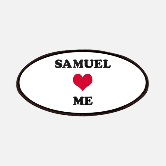 Samuel Loves Me Patch