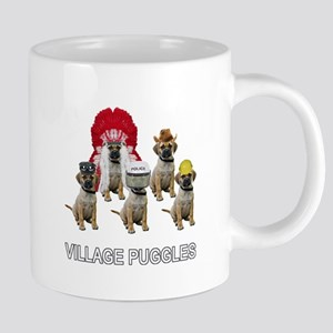 FIN-village-puggles-TITLE-WH 20 oz Ceramic Meg