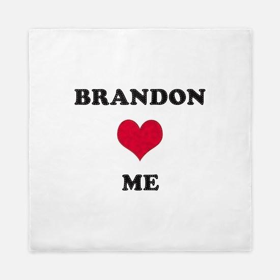 Brandon Loves Me Queen Duvet