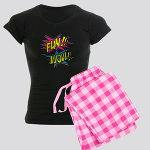 Fun Wow Women's Dark Pajamas
