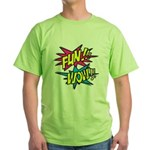 Fun Wow Green T-Shirt