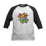 Fun Wow Kids Baseball Jersey