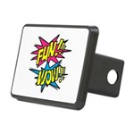 Fun Wow Rectangular Hitch Cover