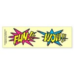 Fun Wow Sticker (Bumper 50 pk)