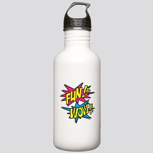 Fun Wow Stainless Water Bottle 1.0L