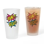 Fun Wow Drinking Glass