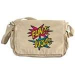 Fun Wow Messenger Bag