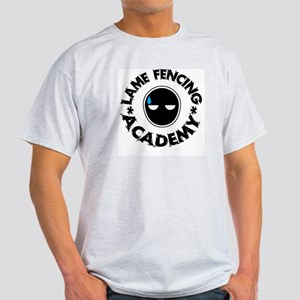 Lame Fencing Academy Ash Grey T-Shirt