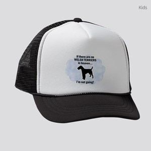 0f9b50e7e3dea Boston Terrier Rainbow Bridge Kids Trucker Hats - CafePress