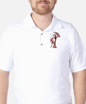 Rocky Lobster Original Golf Shirt