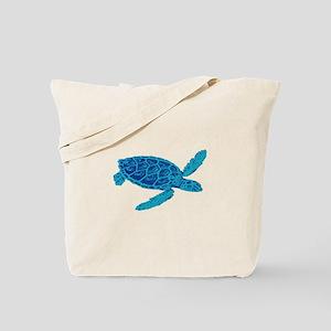 BLUE HORIZON Tote Bag