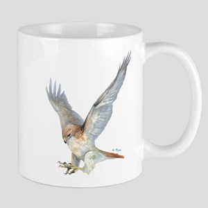 striking Red-tail Hawk Mug