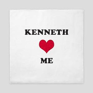 Kenneth Loves Me Queen Duvet
