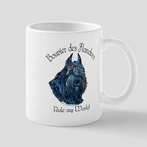 Bouvier des Flandres Rule Mug