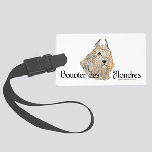 Bouvier Sweetie Large Luggage Tag