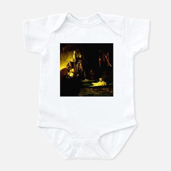 Raising of Lazarus Rembrandt Infant Bodysuit