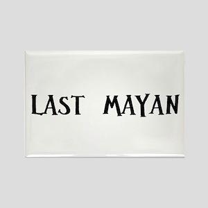 Last Mayan Rectangle Magnet
