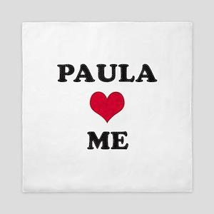 Paula Loves Me Queen Duvet