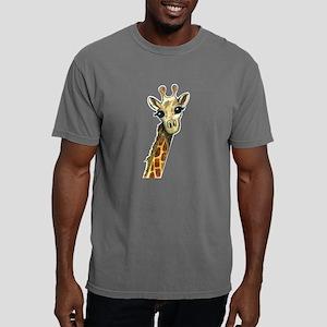 Lovable Giraffe Mens Comfort Colors Shirt