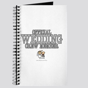 Official Wedding Crew Journal
