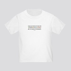 Safe With Me Tree Toddler T-Shirt