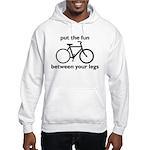 Bike: Fun Between Your Legs Hooded Sweatshirt