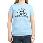 Bike: Fun Between Your Legs Women's Light T-Shirt