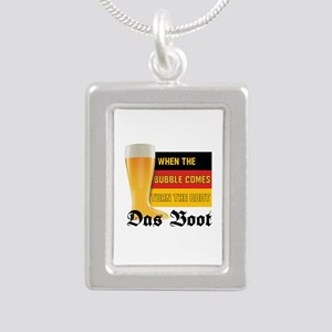 das_boot Silver Portrait Necklace