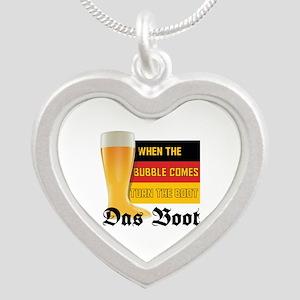 das_boot Silver Heart Necklace