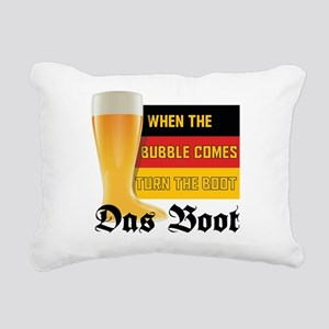 das_boot Rectangular Canvas Pillow