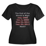 End of the World is Nigh shirt Women's Plus Size S
