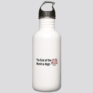 End of the World is Nigh bumper Stainless Water Bo