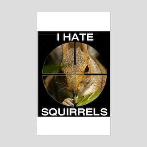 Squirrel/Scope Rectangle Sticker