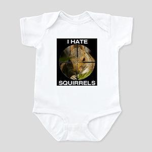 Squirrel/Scope Infant Bodysuit