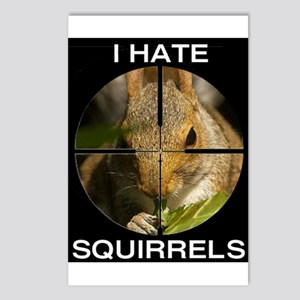 Squirrel/Scope Postcards (Package of 8)