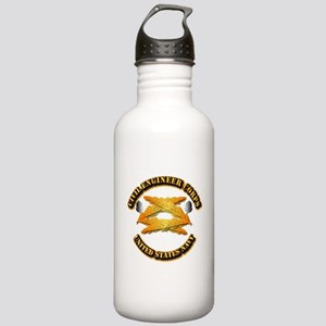 Navy - Civil Engineer Corps Stainless Water Bottle