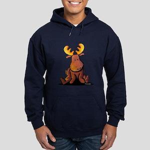 KiniArt Moose Hoodie (dark)